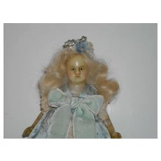 """7.5"""" Petite Poured Wax Doll"""