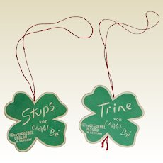 Hummel Stups and Trine Paper Tags