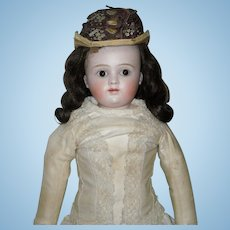 "18.5"" Kestner Bisque Closed Mouth Doll"