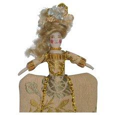Miniature Wooden Doll