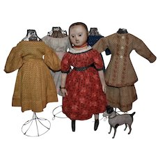 """15"""" Izannah Walker Inspired Artist Doll with Many Extras"""