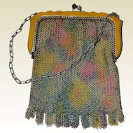 Whiting & Davis Art Deco Mesh Bag