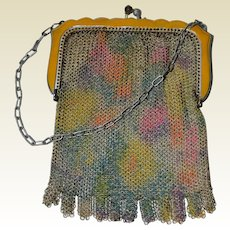 Whiting & Davis Art Deco Mesh Bag
