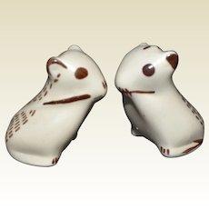 Pair of Porcelain Mice from the Metropolitan Museum of Art