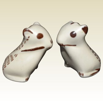 Pair of Porcelain Mice from the Metropolitan Museum of Art