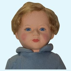 "15"" Chad Valley Prince Edward of Kent Cloth Doll"
