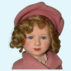 "16"" Chad Valley Princess Margaret Rose Cloth Doll"