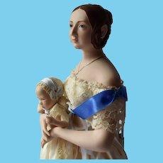 UFDC Convention Queen Victoria and Companion Baby