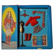 Dawn Doll Fashions in Package - Mad about Plaid #0723