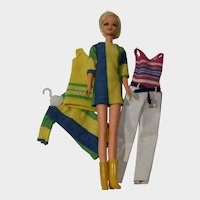 Mattel Twiggy Doll Plus Extra Outfits