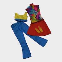 Mattel Francie Swingin Separates Outfit