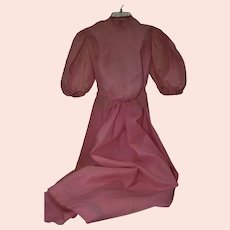 Late 19th or Early 20th Century Two Piece Dress