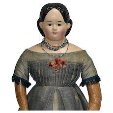 """25"""" Greiner Doll in Excellent Original Condition"""
