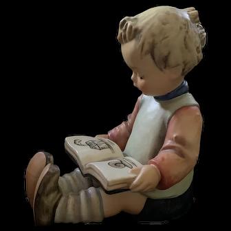 74A & 74B Hummel Large Boy & Girl Reading