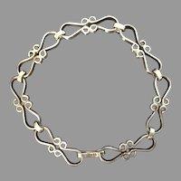 Sterling Silver Lacey Filigree Bracelet