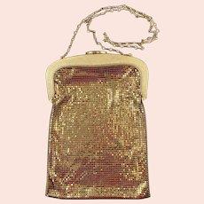 Whiting and Davis Golden Mesh Handbag