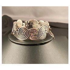 Romero 925 Taxco Sterling Silver Bracelet