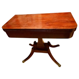 1800s British Games Table
