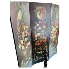 Portuguese XIX century handmade Screen