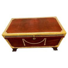 19th Century Leather Case