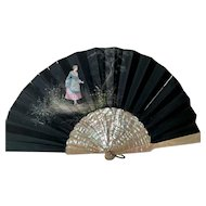Mother of Pearl Fan XIX century