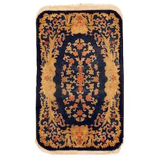 "Art Deco Chinese Oriental Rug 3'0"" x 5'0"""
