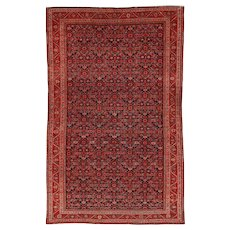 Mishan Malayer Antique Persian Oriental Rug 4'0″ X 6'2″ #5903