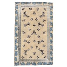 #7810 Antique Ningxia Chinese Oriental Rug 4'7″ X 7'7″