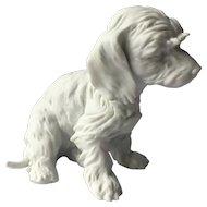 Kaiser Figurine Terrier Dog White Bisque