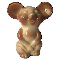 Fenton NFGS Chocolate Mouse Figurine