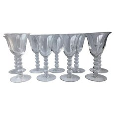 Set of 9 Candlewick 3400 Wine Glasses 5.5""