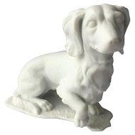 Dachshund Dog Kaiser Figurine White Bisque
