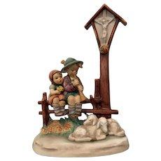 "Hummel Figurine ""Wayside Devotion"""