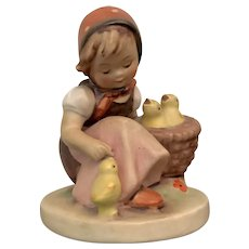 "Hummel Figurine ""Chick Girl"""