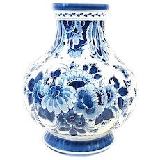 Delft Blue vase Porceleyne Fles 1984