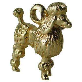 Vintage M&M 14kt Gold Poodle Charm
