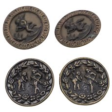 Buttons late 1800s