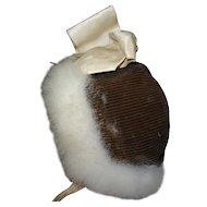 Antique beautiful hat bébé Jumeau size 12 good condition