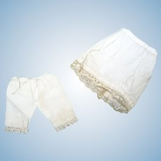 Antique nice underwears mignonnette french