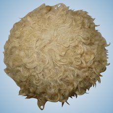 Antique pretty rare large wig blond early period Steiner size 12