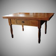 Vintage Farmhouse Counter Table Island