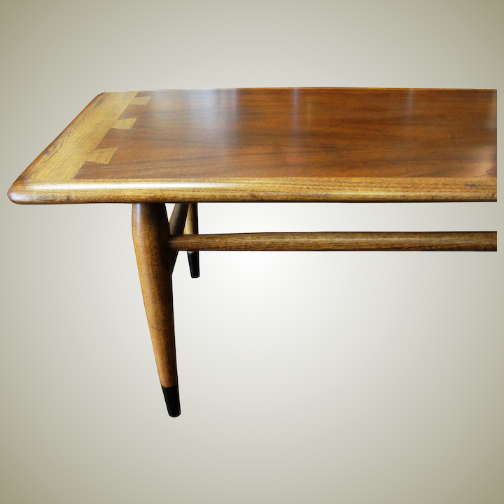 Mid Century Coffee Table.Lane Mid Century Modern Acclaim Dovetail Coffee Table