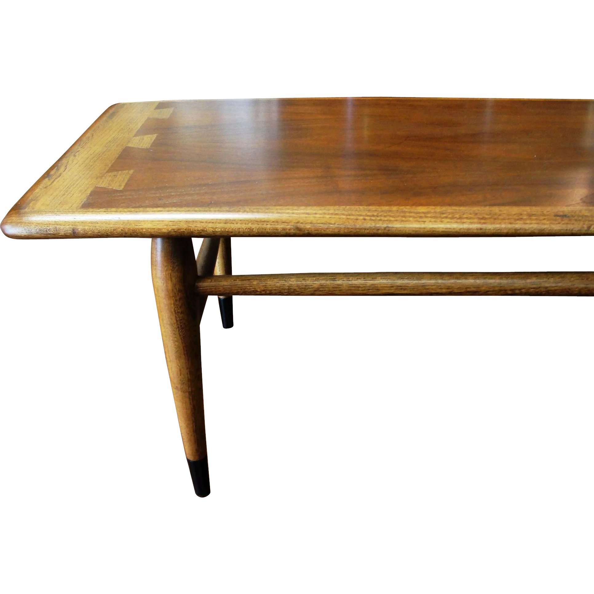 Lane Mid Century Modern Acclaim Dovetail Coffee Table Bread Butter Antiques Llc Ruby Lane