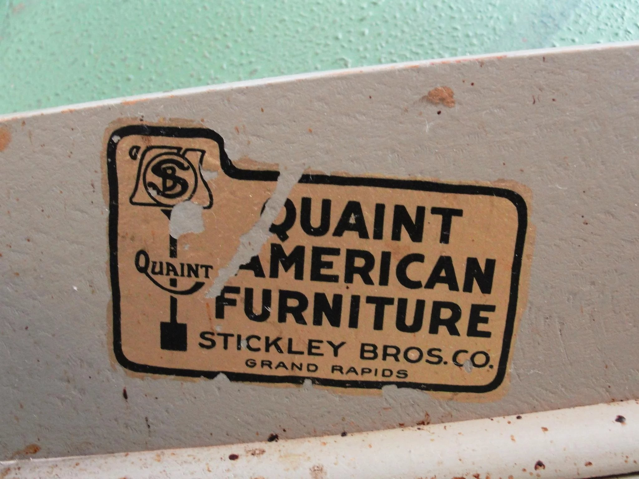 Stickley Quaint American Furniture Hand Painted Bedroom