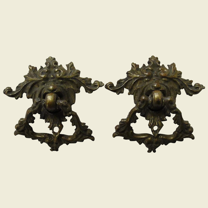 Drawer Pulls Cast Brass