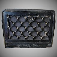 Antique Cast Iron Wall Furnace Register Grate