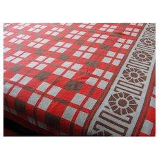 Vintage Cotton Beacon Camp Blanket
