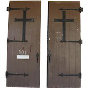 Architectural Salvage Antique Church Entry Doors