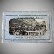 Vintage Chimney Rock North Carolina Souvenir Photos