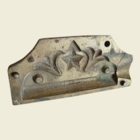 Antique Two Part Drawer Handle Hardware Mold